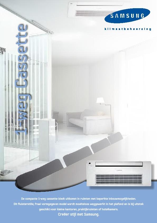 Samsung-brochure-cassette-1-weg-airco-Reva-BV