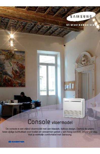 Samsung-brochure-console-vloermodel-airco-Reva-BV