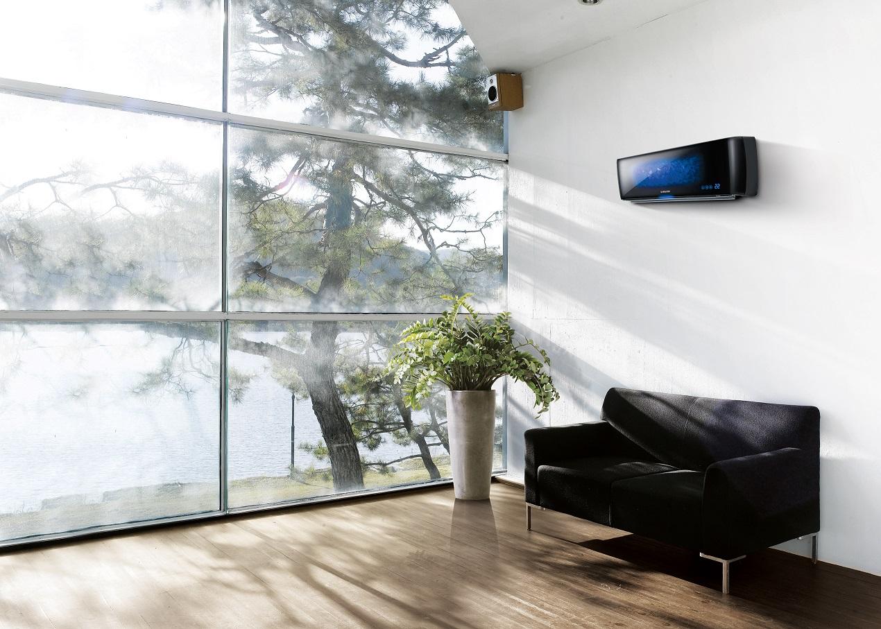 Design airco ge nstalleerd door reva bv reva bv for Design woonkamer
